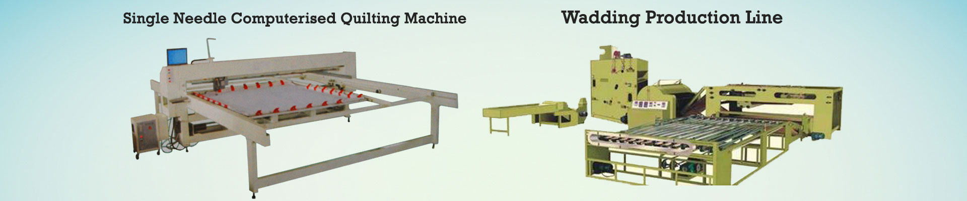 Wadding Production Line